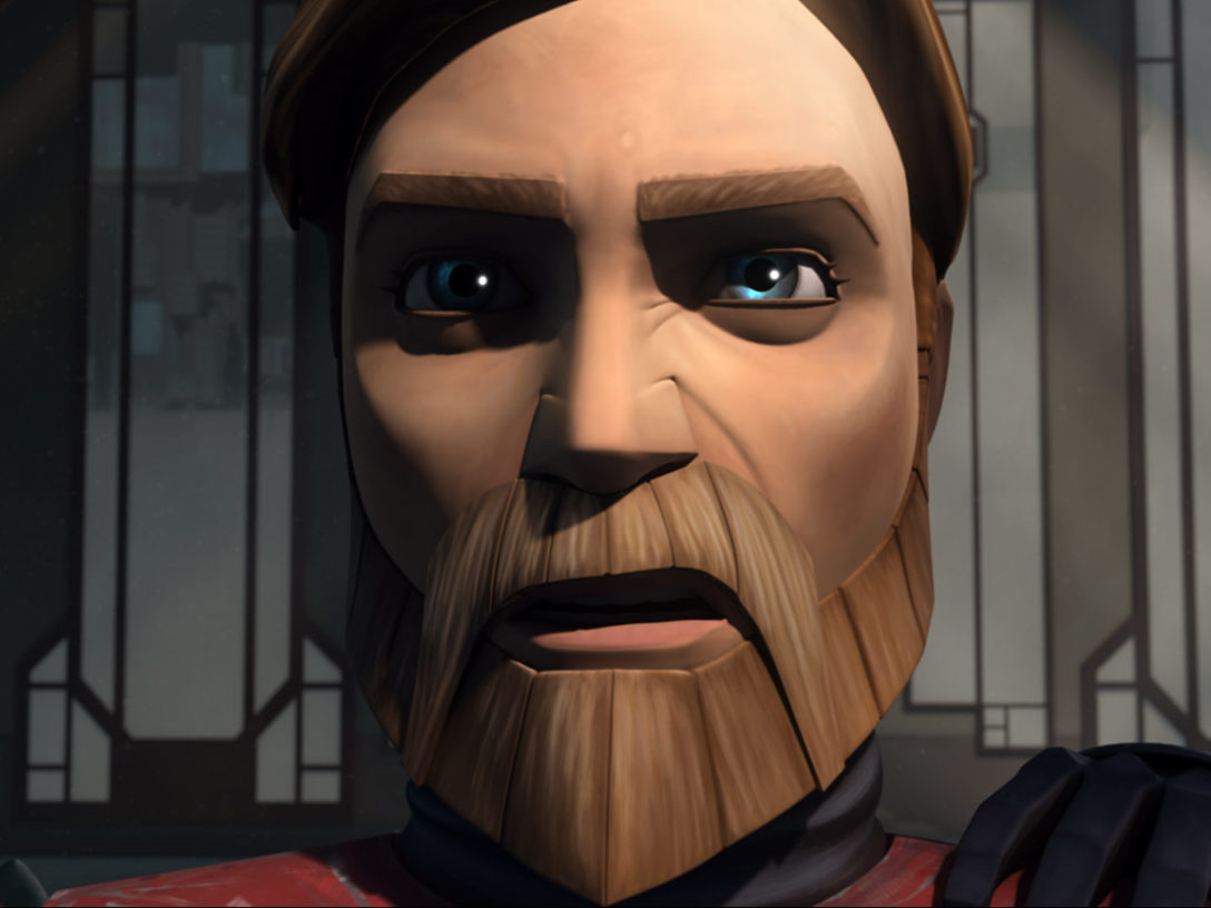 Obi-Wan Kenobi in The Clone Wars