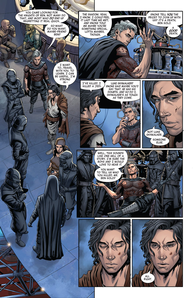 The Rise of Kylo Ren #3 page 3