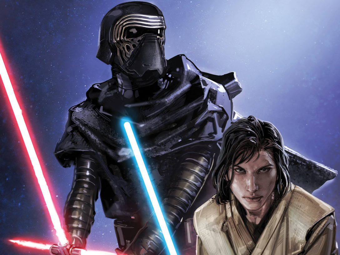 Ben Solo and Kylo Ren on the cover of The Rise of Kylo Ren #3