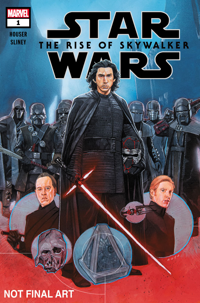Star Wars: The Rise of Skywalker comic cover