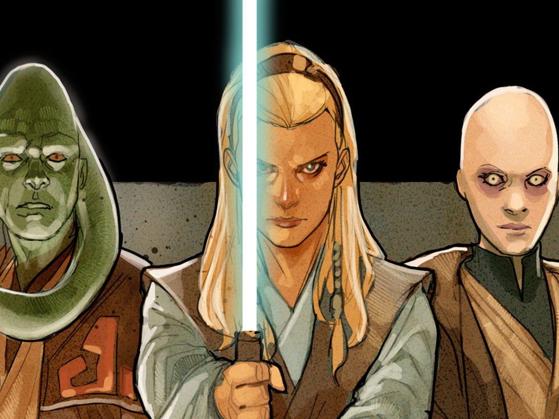 Star Wars: The High Republic art by Phil Noto