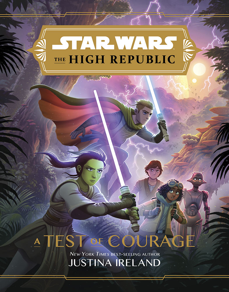 Portada de Star Wars: The High Republic - A Test of Courage