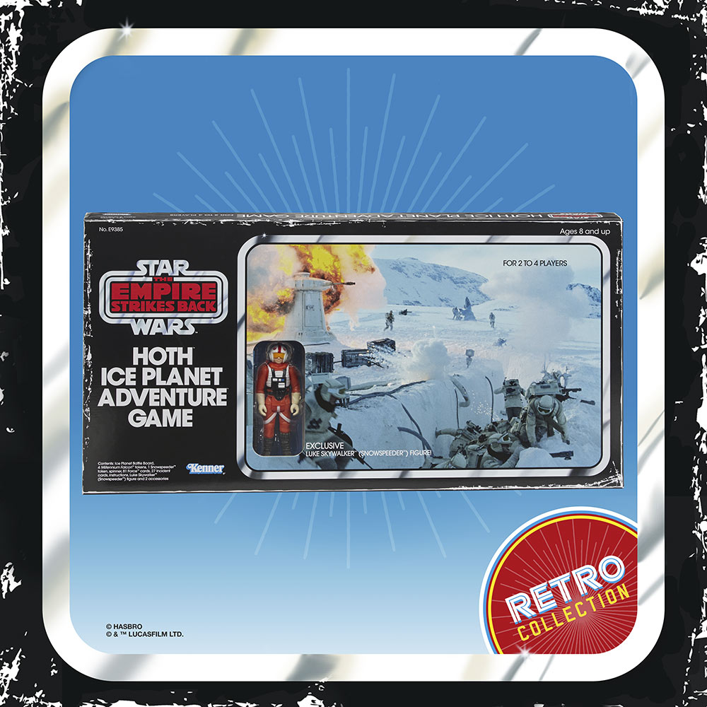 Hasbro Star Wars Retro Collection Hoth board game