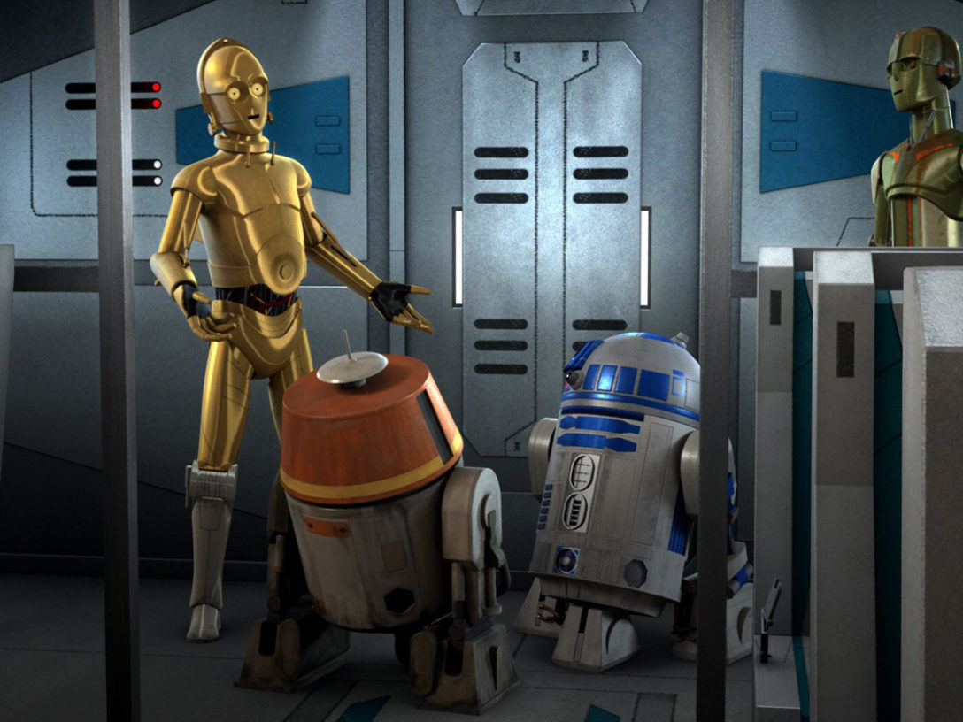Star Wars Rebels: C-3PO and R2-D2