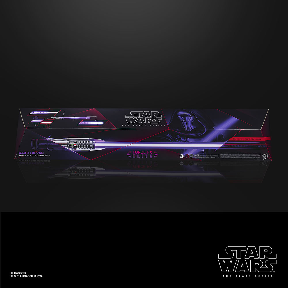Black Series Darth Revan lightsaber