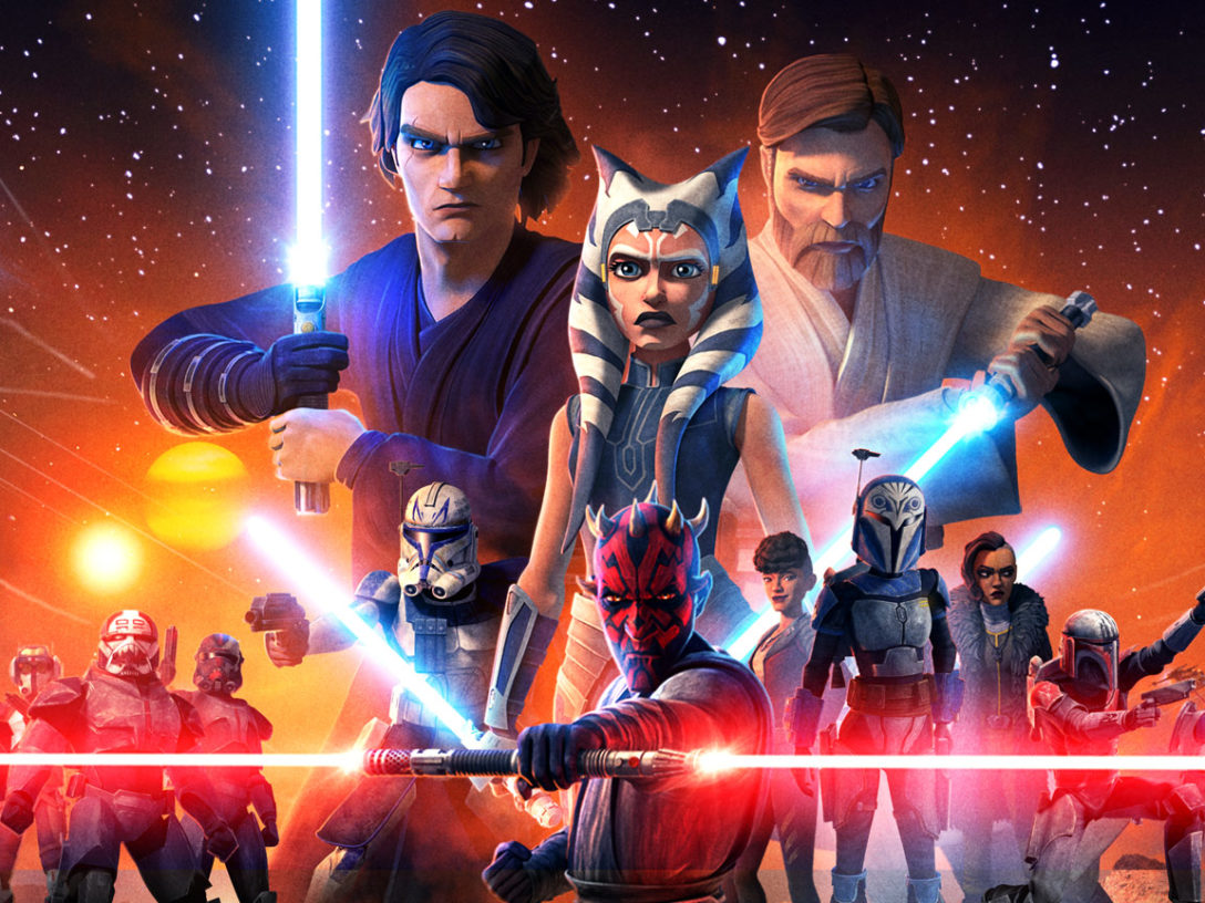 Star Wars: The Clone Wars final season key art