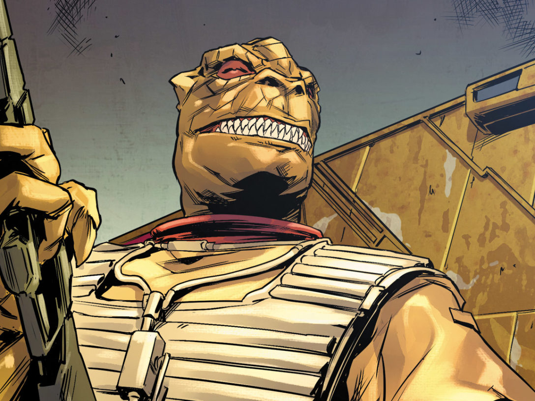 Bossk in Bounty Hunters issue #2.