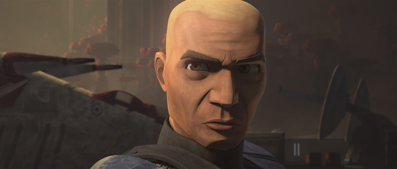 "Rex in the Star Wars: The Clone Wars episode ""Unfinished Business"""