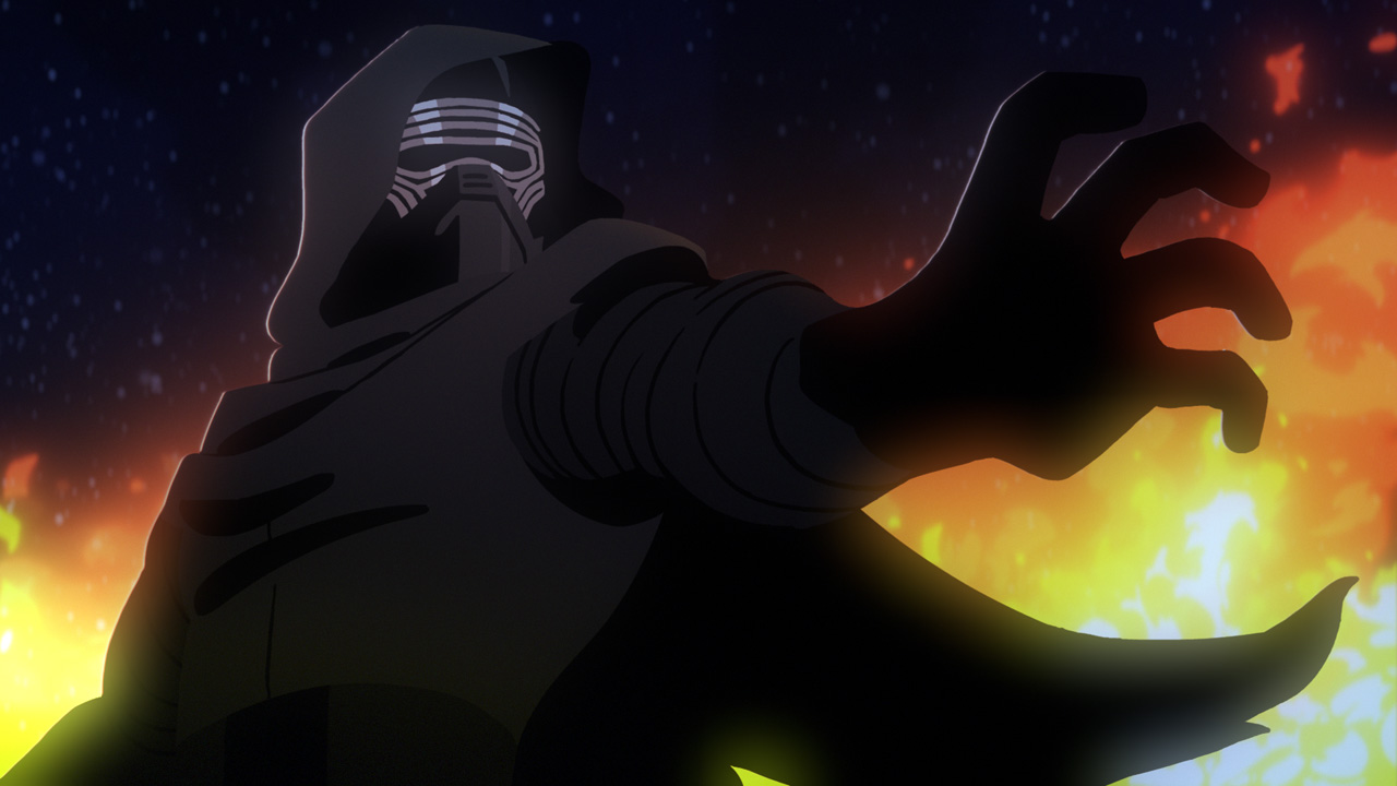 Kylo Ren in Star Wars Galaxy of Adventures