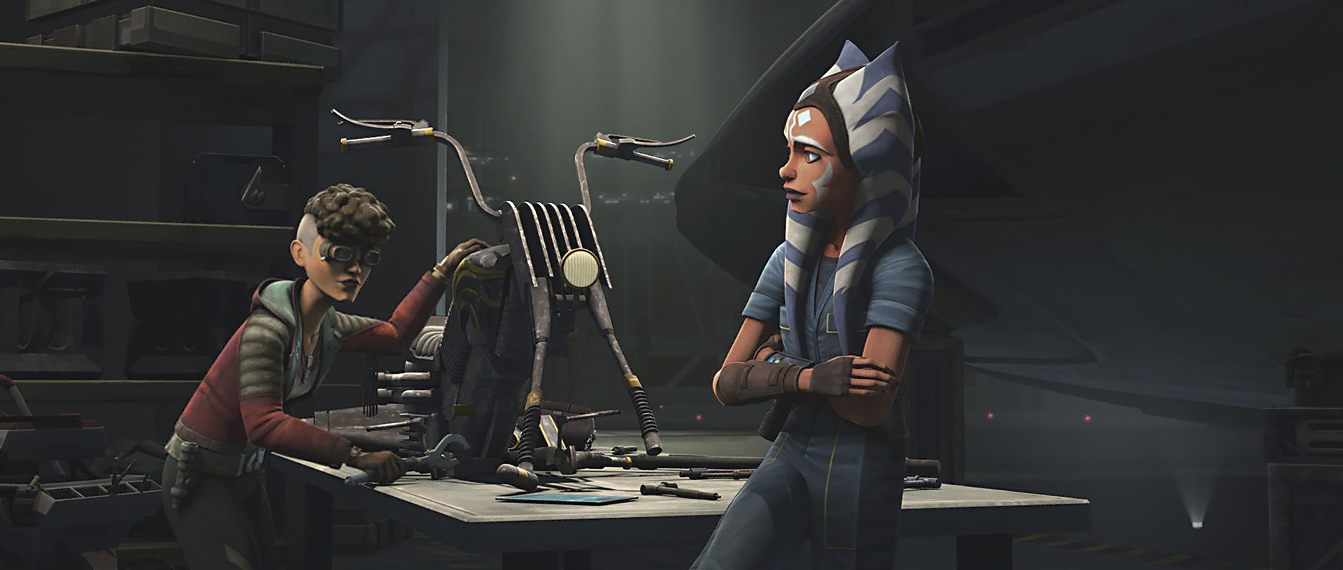 """Gone without a Trace"" still Ahsoka and Trace"