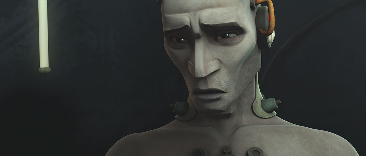 "Echo in the Star Wars: The Clone Wars episode ""On the Wings of Keeradaks"""
