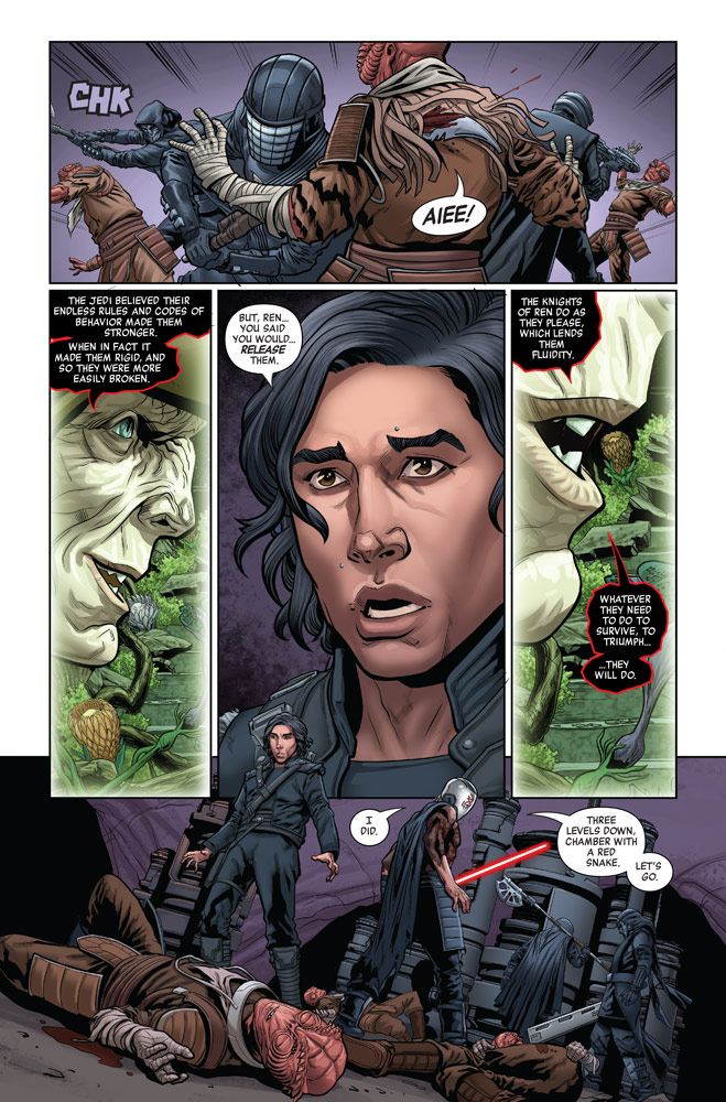 The Rise of Kylo Ren #4 page 1