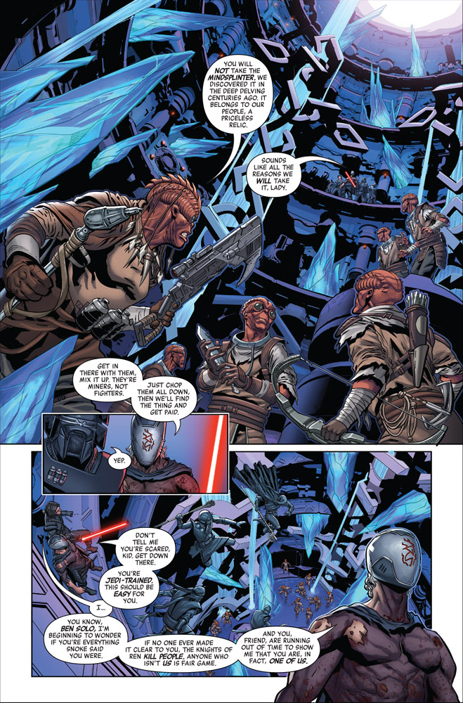 The Rise of Kylo Ren #4 page 2