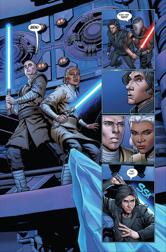The Rise of Kylo Ren #4 page 3