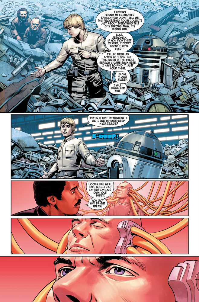 Marvel Star Wars #4 page 1