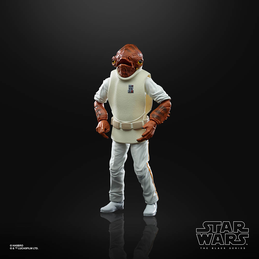 A new Hasbro Black Series Admiral Ackbar.