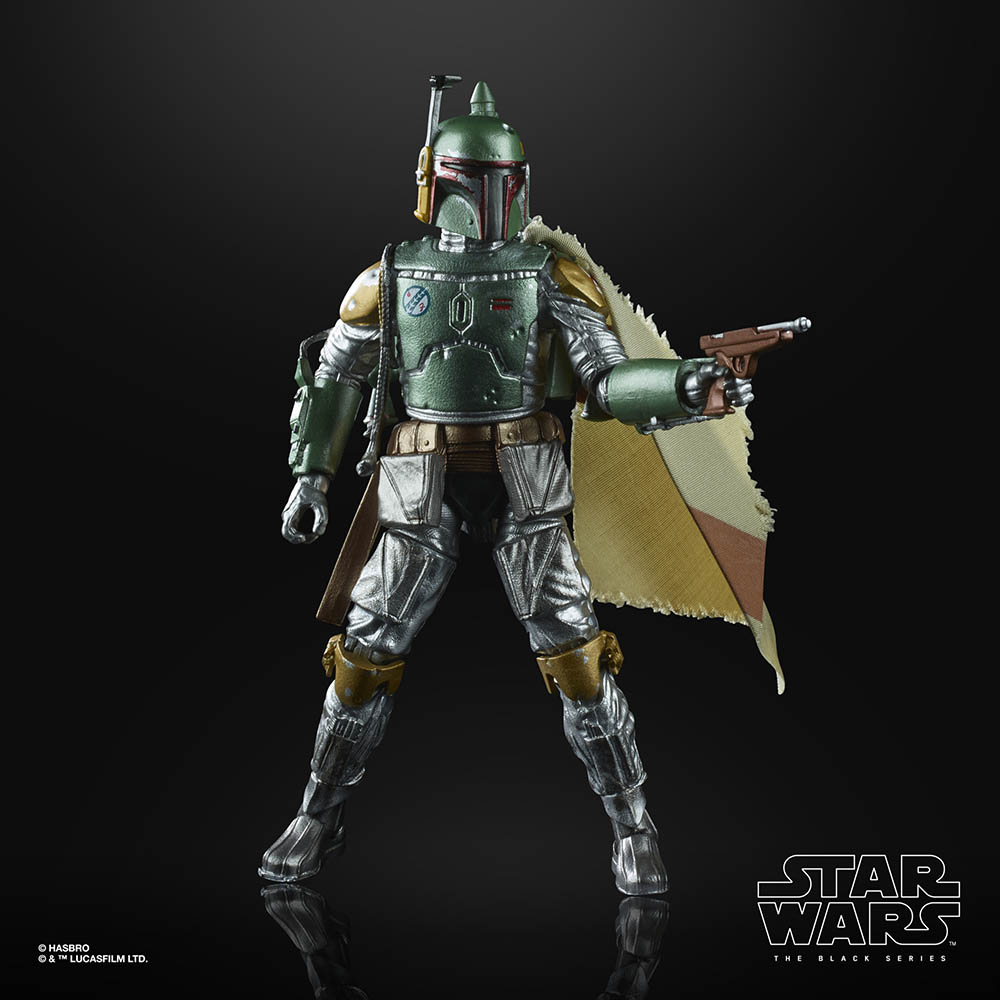 A new Hasbro Black Series Boba Fett.