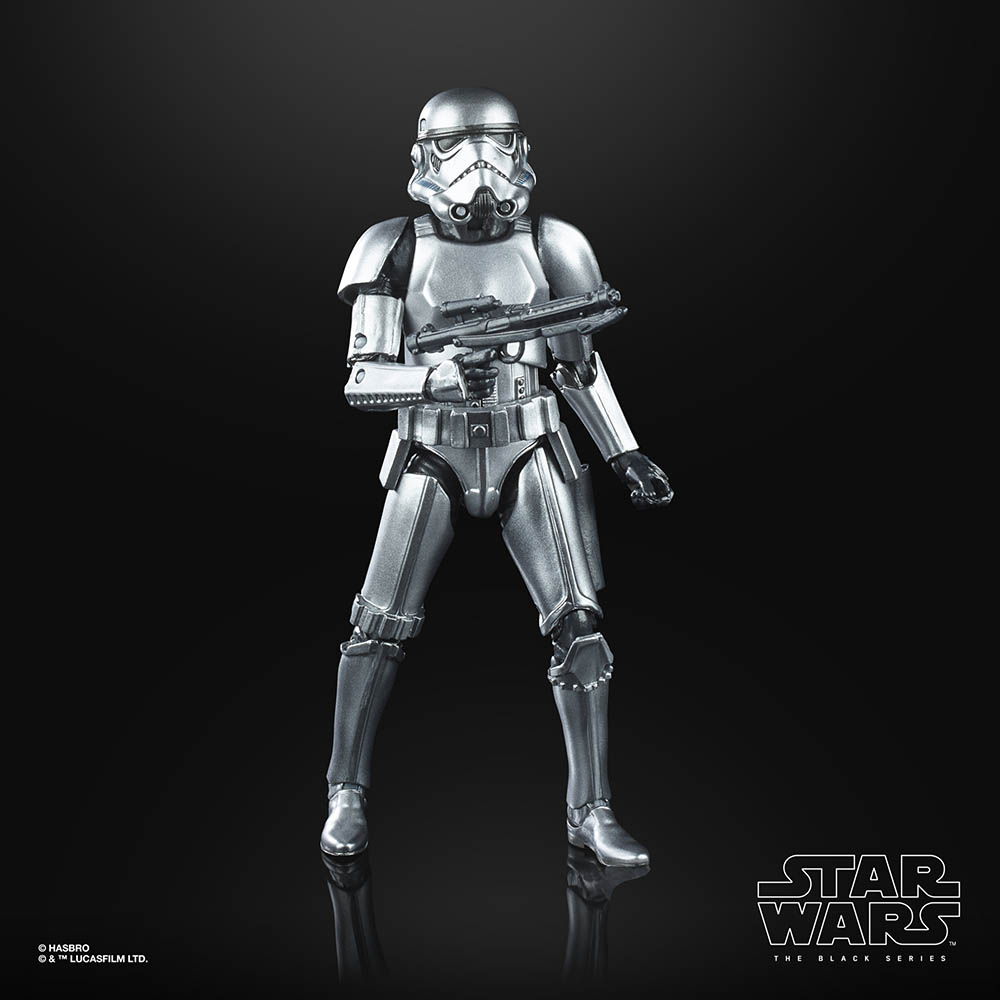 A new Hasbro Black Series Stormtrooper.