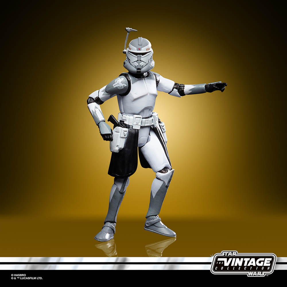 A new Hasbro The Vintage Collection Commander Wolffe.
