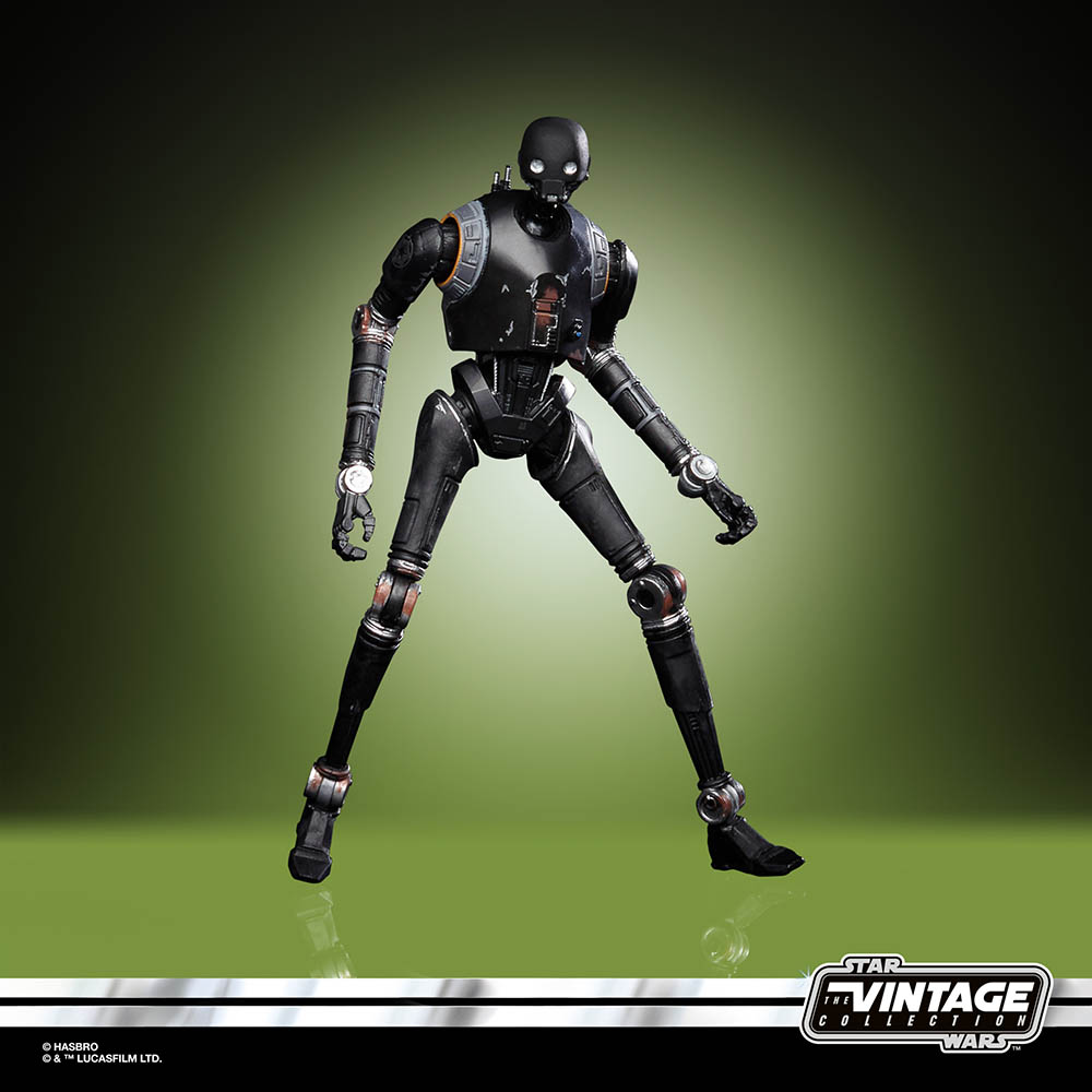 A new Hasbro The Vintage Collection K-2SO.