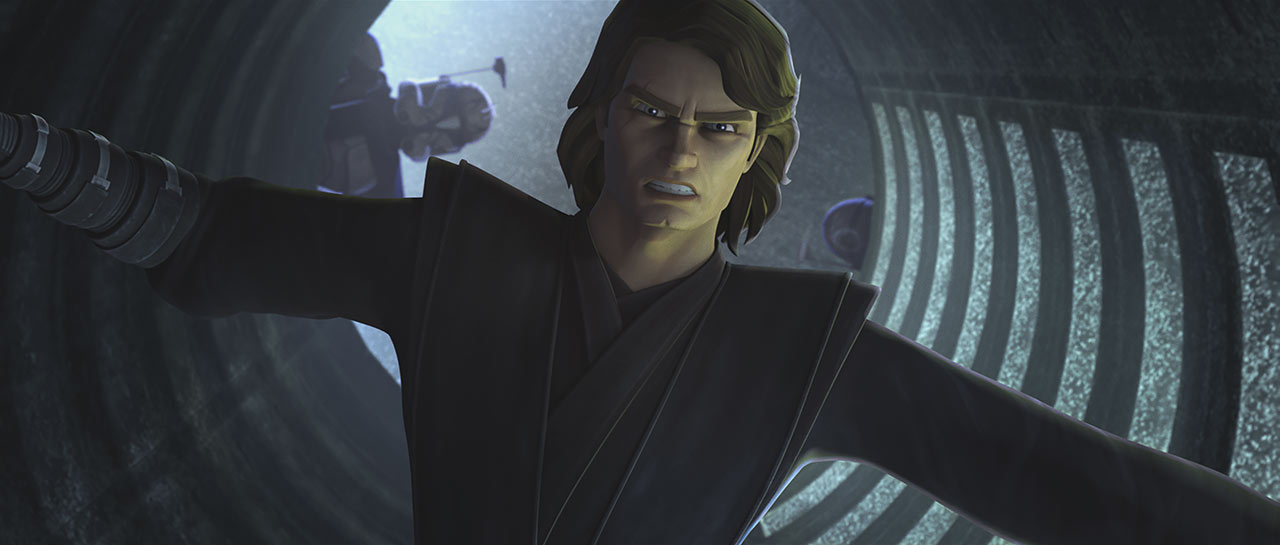 On the Wing of Keeradaks: Anakin