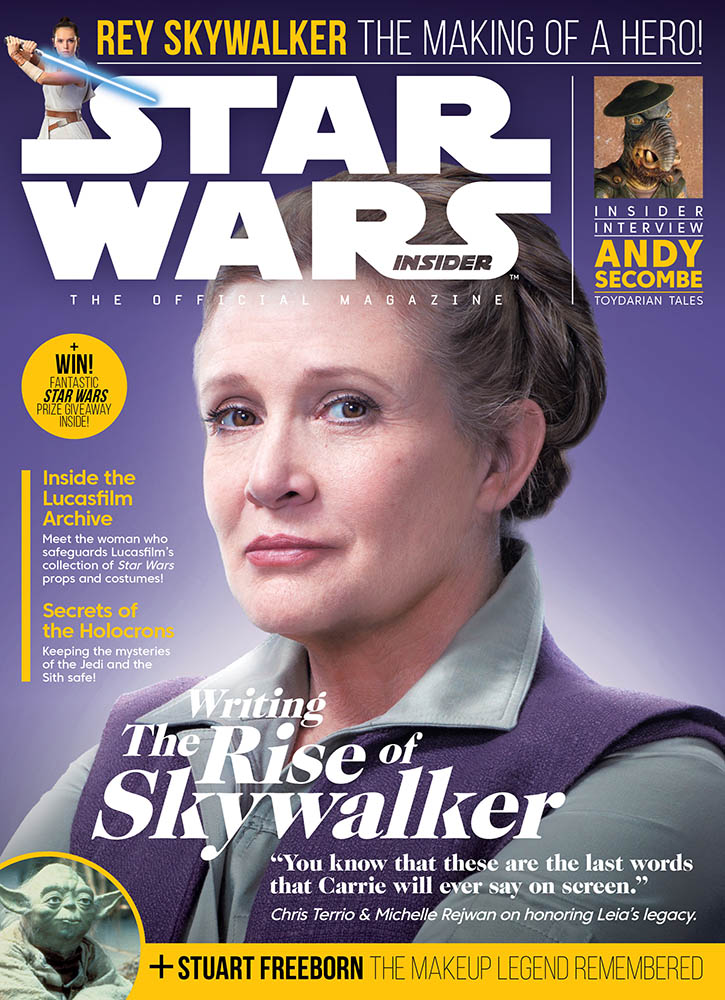 The cover of Star Wars Insider issue #196.