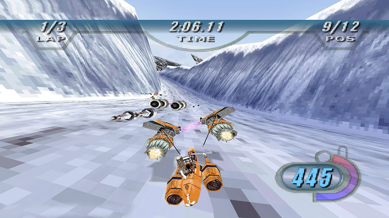Star Wars Racer gameplay