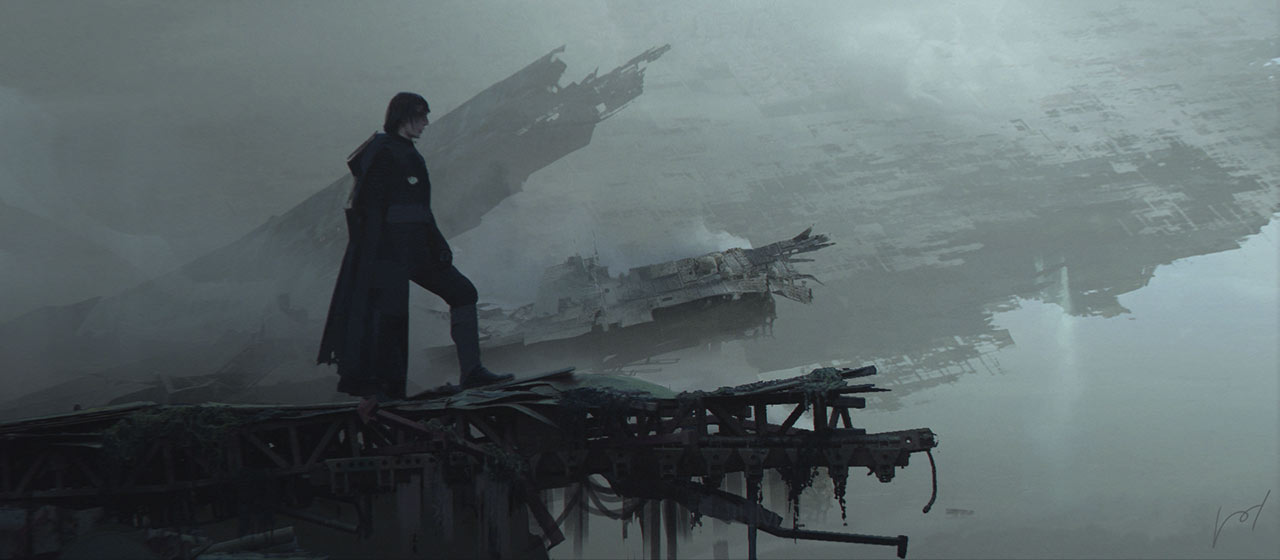 Climbing A Mountain The Making Of The Art Of Star Wars The Rise Of Skywalker Starwars Com