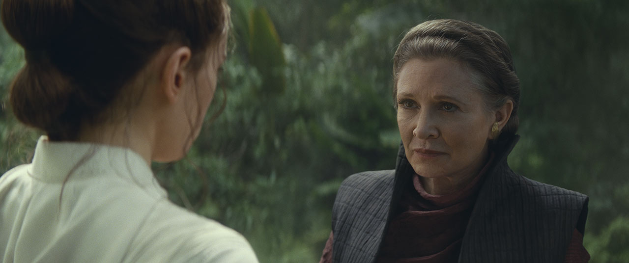 The Rise of Skywalker: Leia