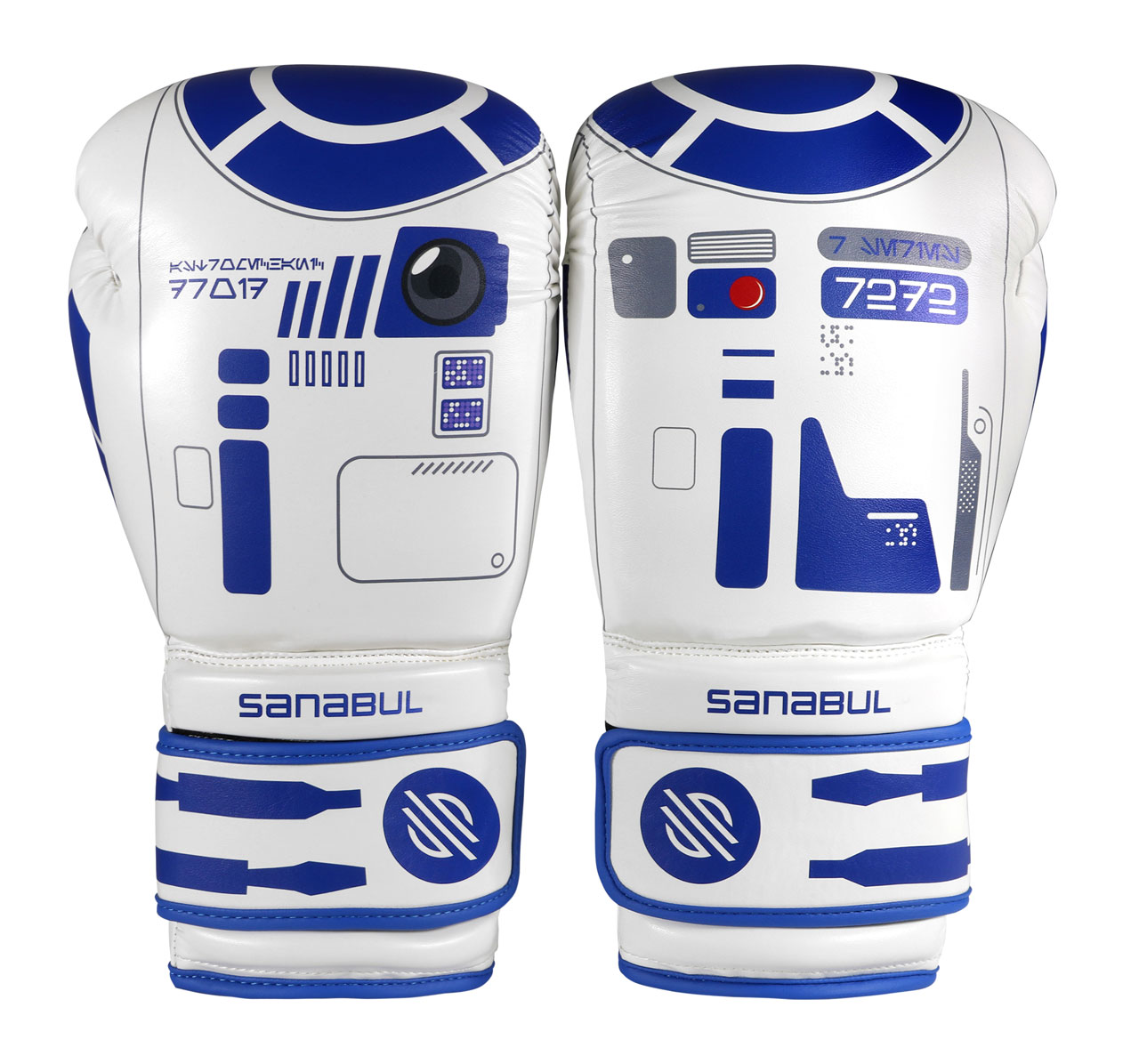 Star Wars R2D2 inspired boxing gloves from Sanabul