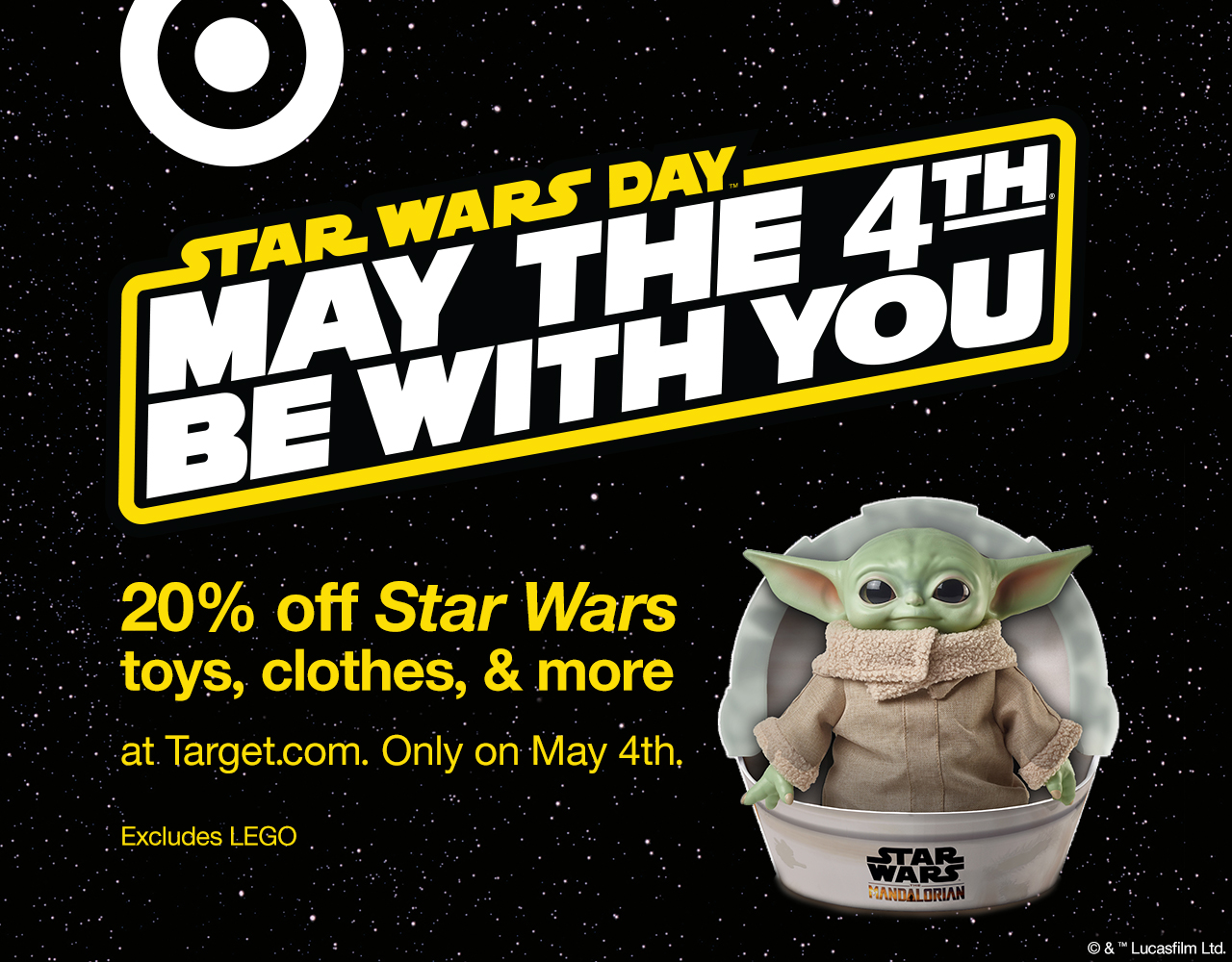 Target May the 4th deals.