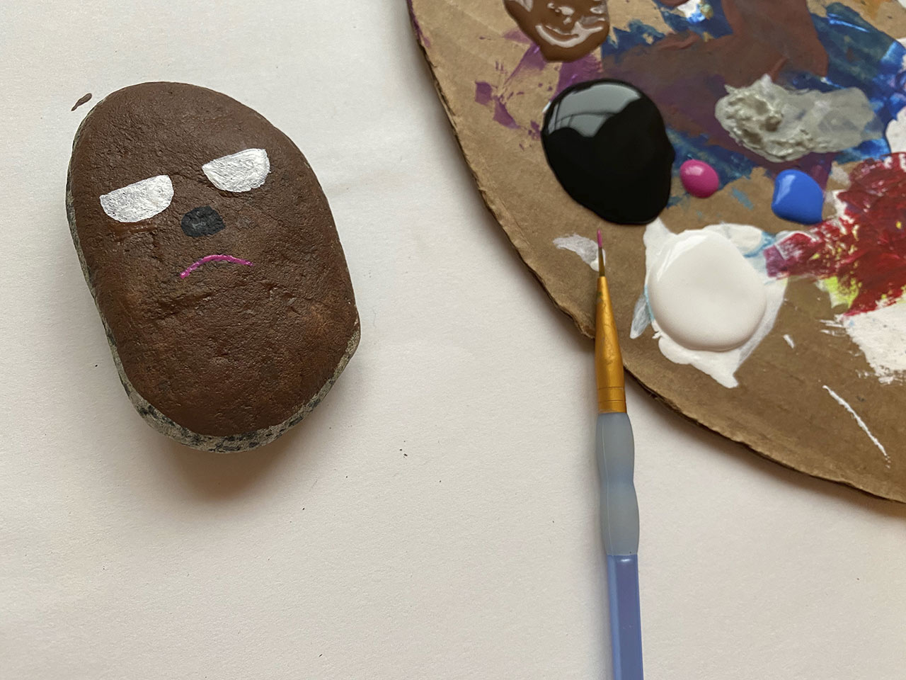 Chewie and the Porgs craft step 10