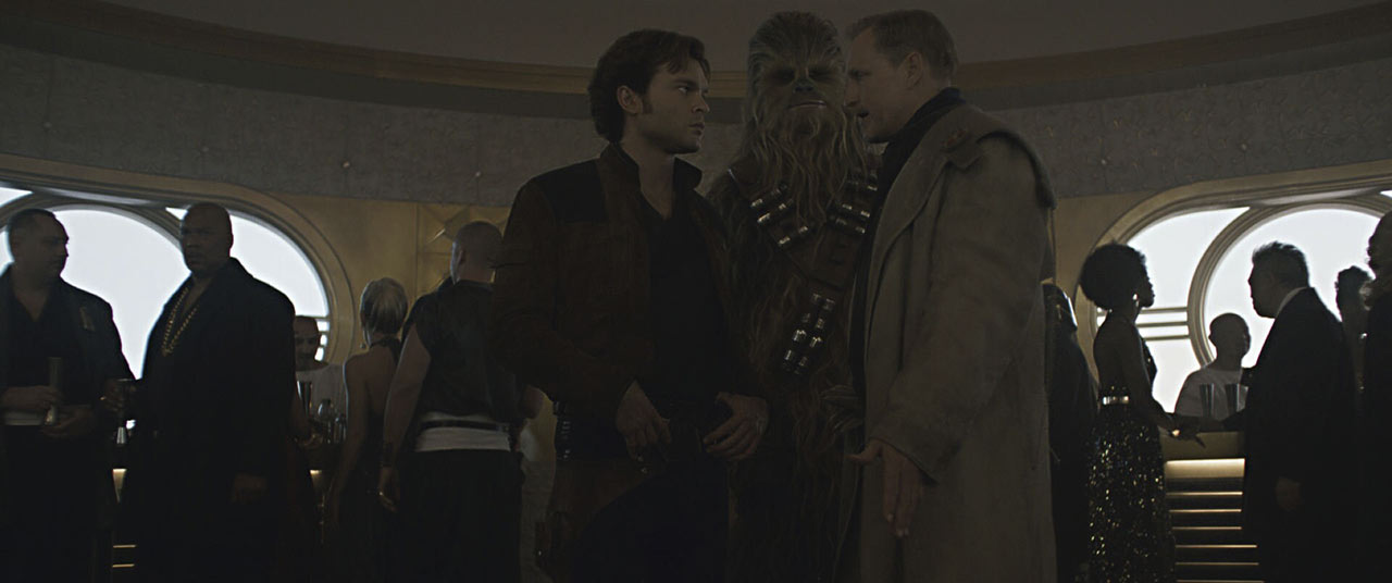 Chewie in Solo: A Star Wars Story