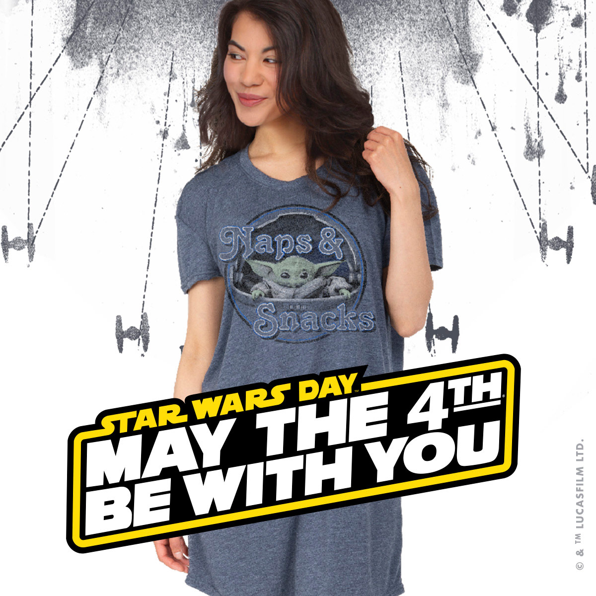 Creative Apparel May the 4th deal