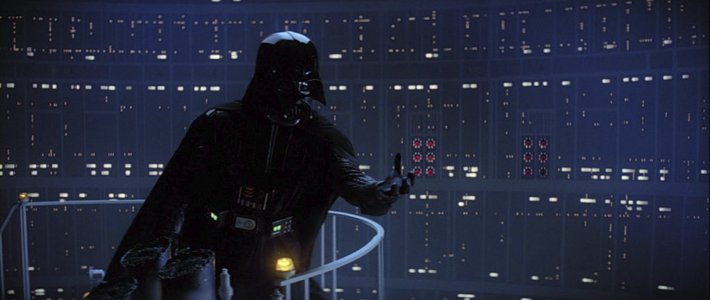 """""""I am your father."""" – Darth Vader"""