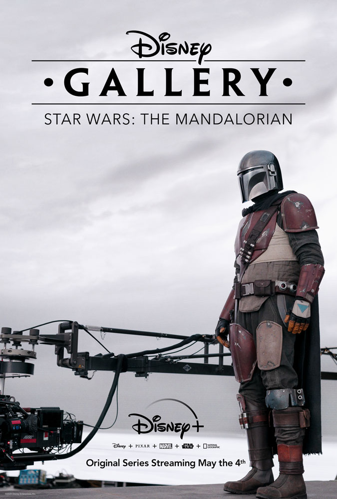 Disney Gallery: The Mandalorian key art