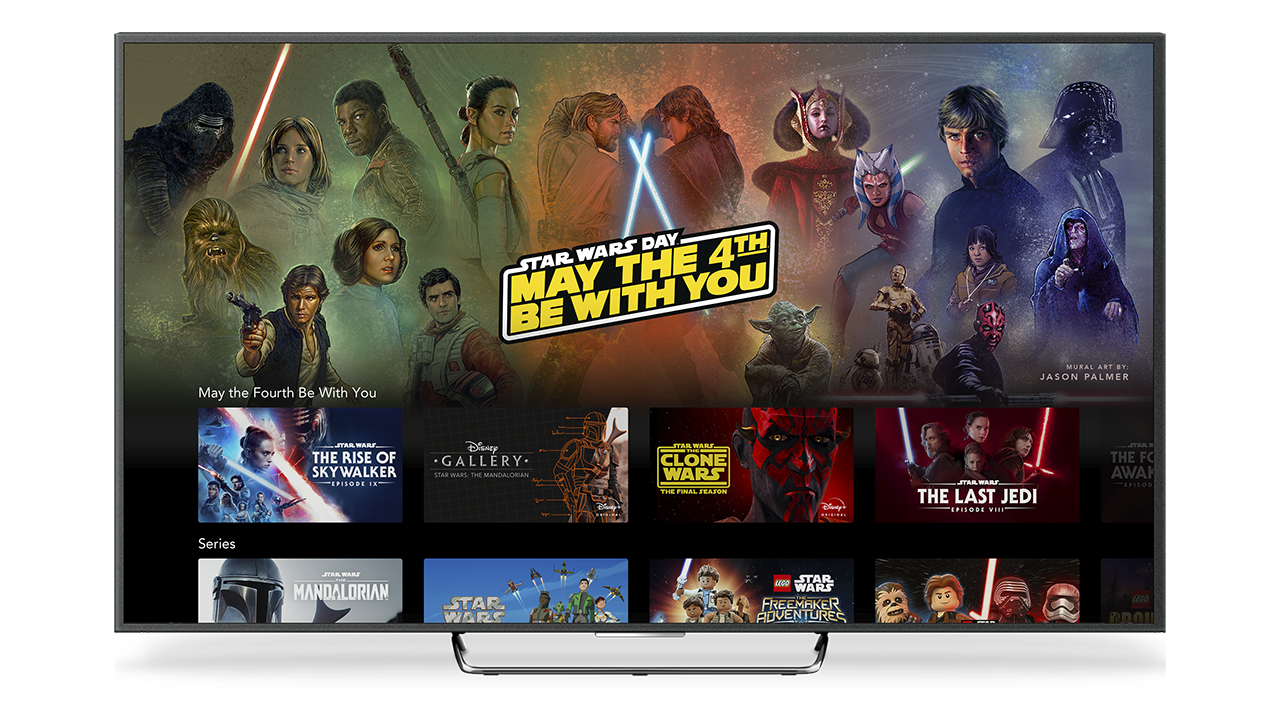 Star Wars May the 4th on Disney+