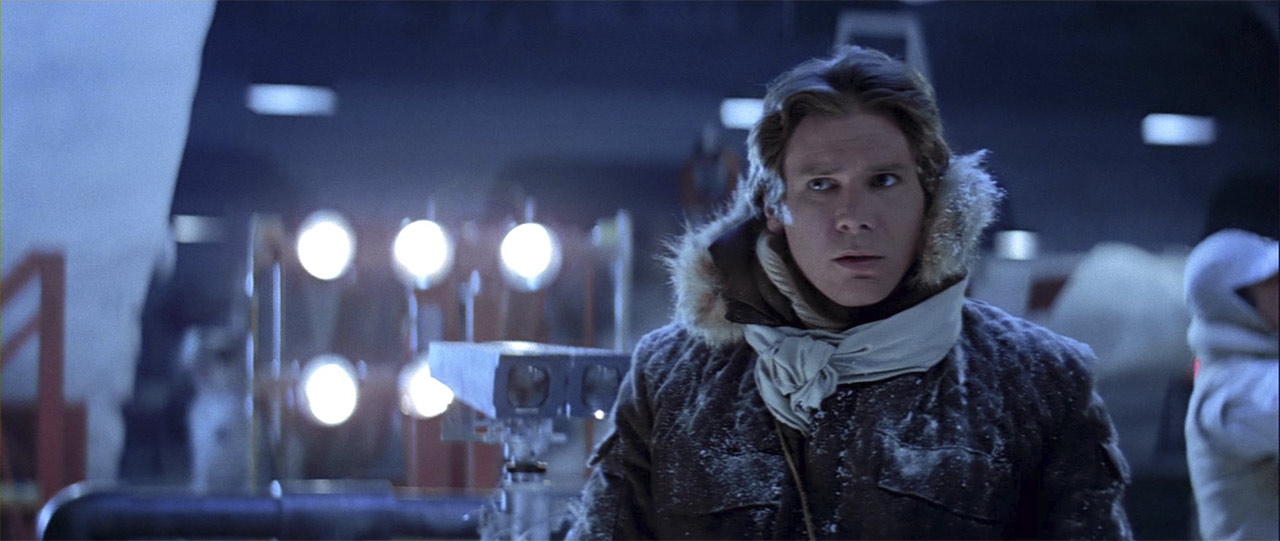 """There isn't enough life on this ice cube to fill a space cruiser."" – Han Solo"