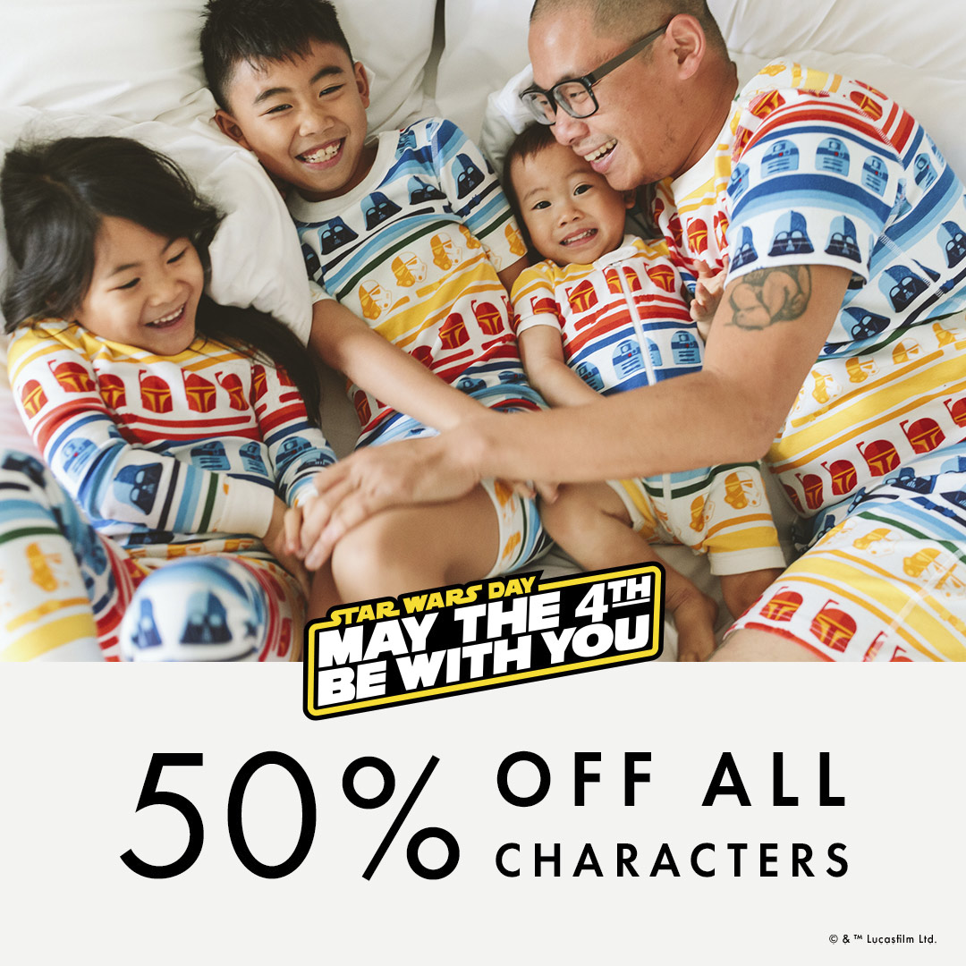 Hanna Andersson Star Wars pajamas and May the 4th deal