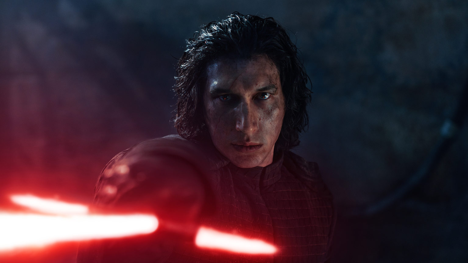 Kylo Ren on Exegol in Star Wars: The Rise of Skywalker.