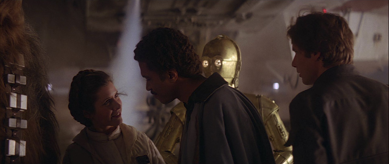 """Hello, what have we here?"" – Lando Calrissian"