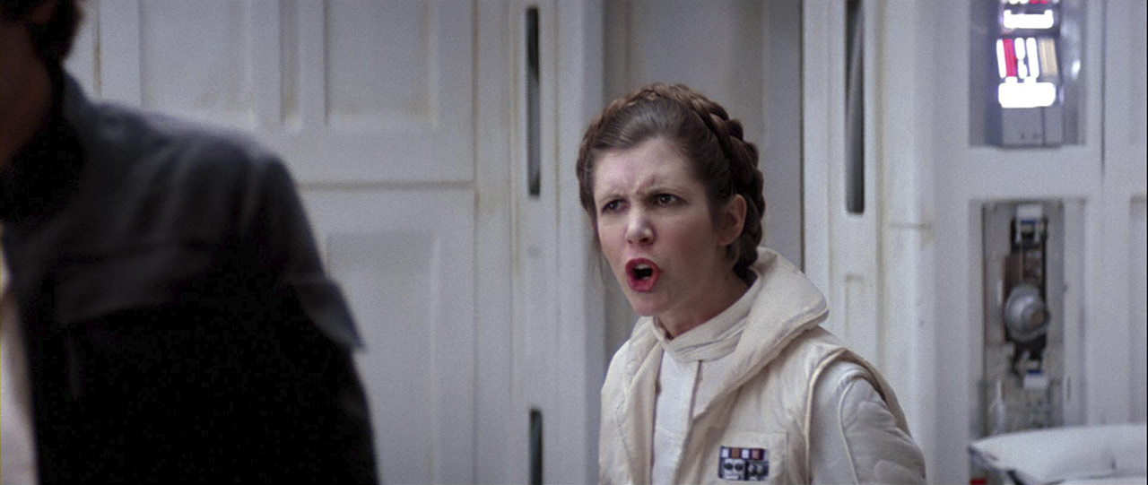 """Why, you stuck up, half-witted, scruffy-looking... nerf-herder!"" – Leia Organa"