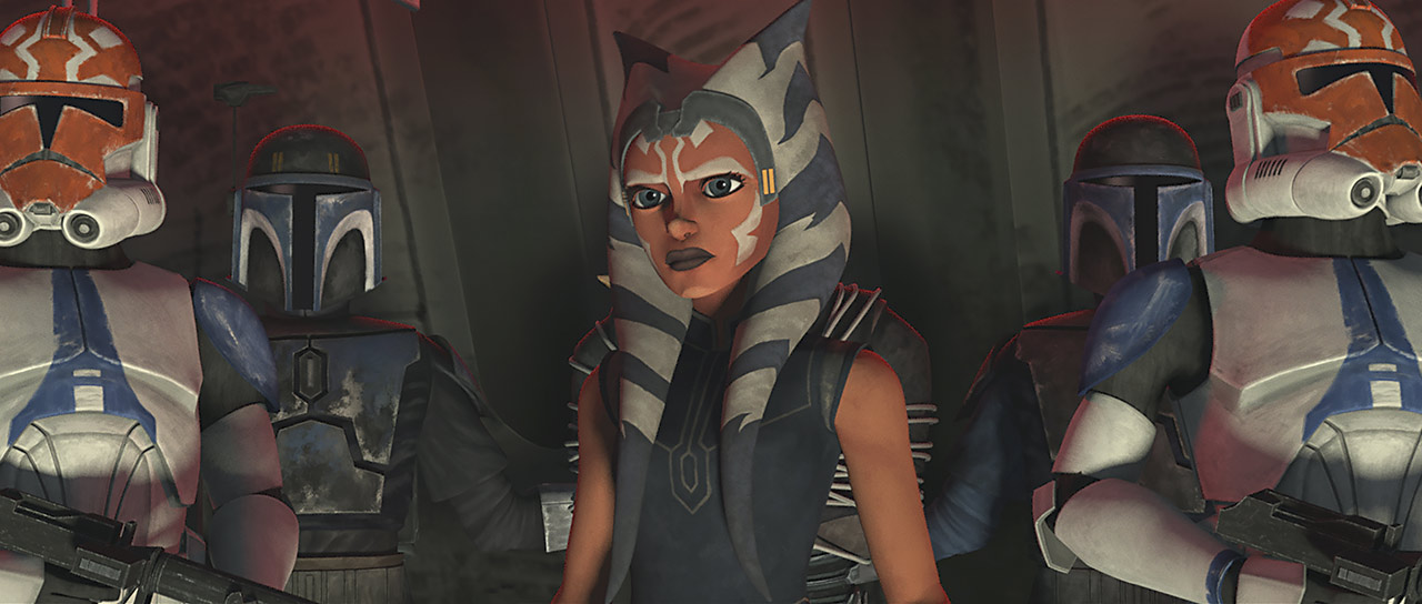 "Ahsoka in ""Shattered"""
