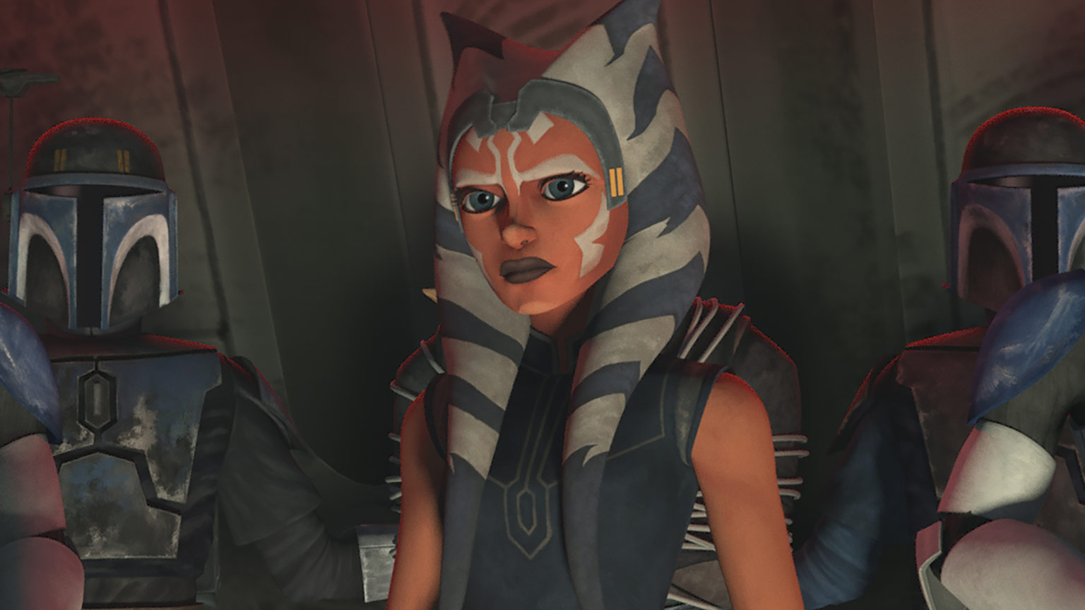 "Ahsoka Tano in Star Wars: The Clone Wars - ""Shattered"""