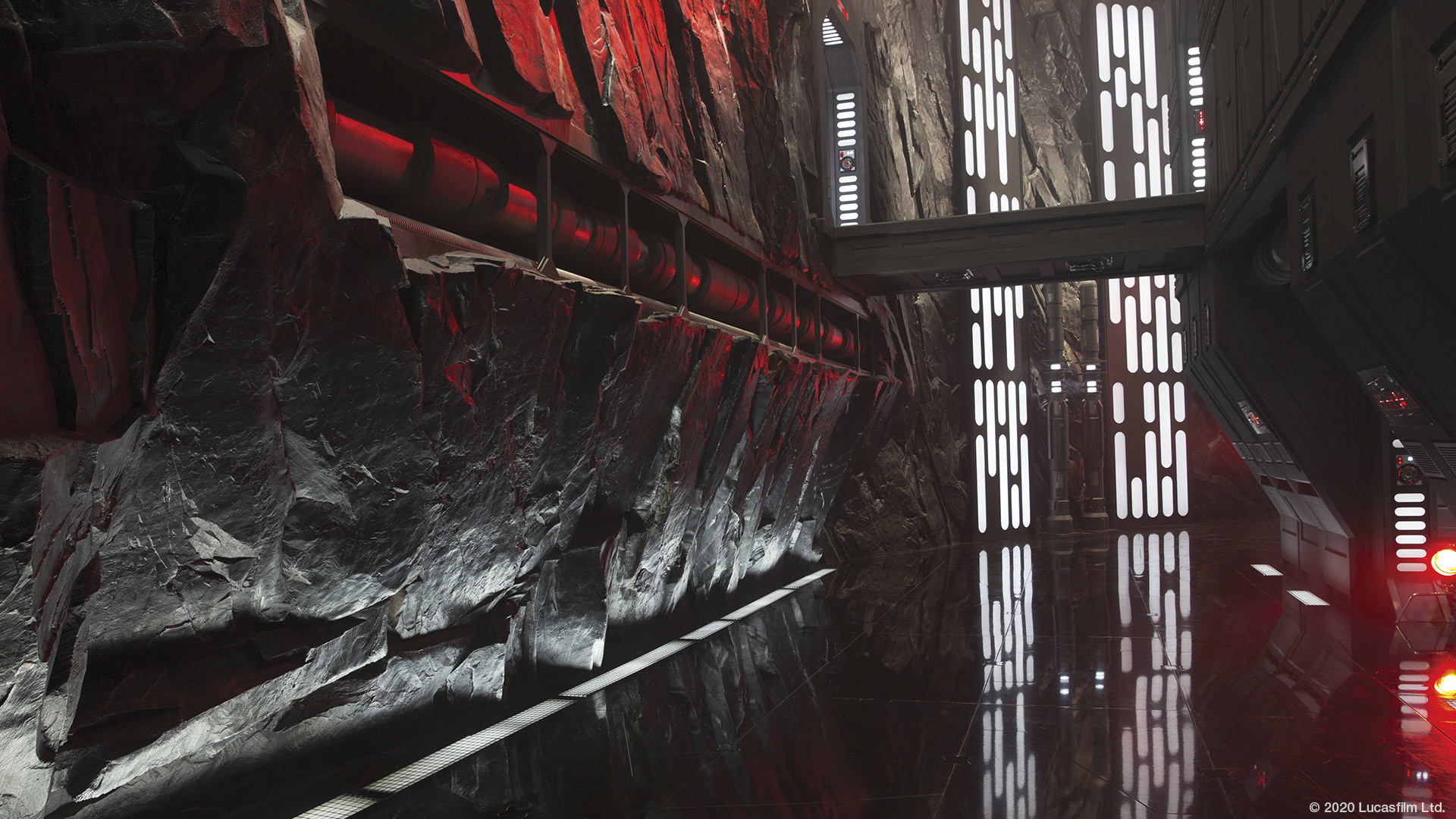 Star Wars virtual background: Starkiller base