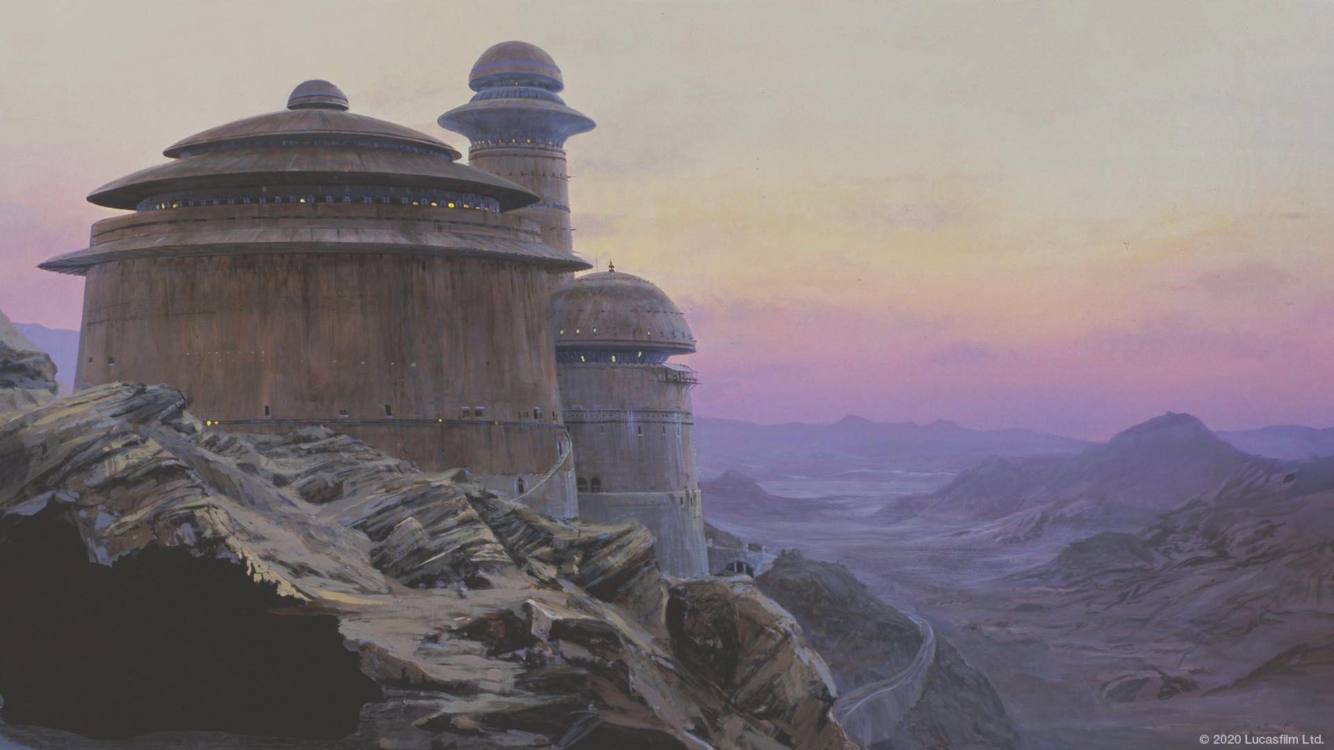 Star Wars virtual background: Tatooine