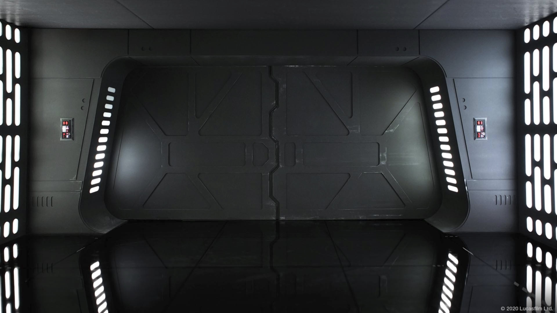 Star Wars virtual background: Scarif Imperial Vault