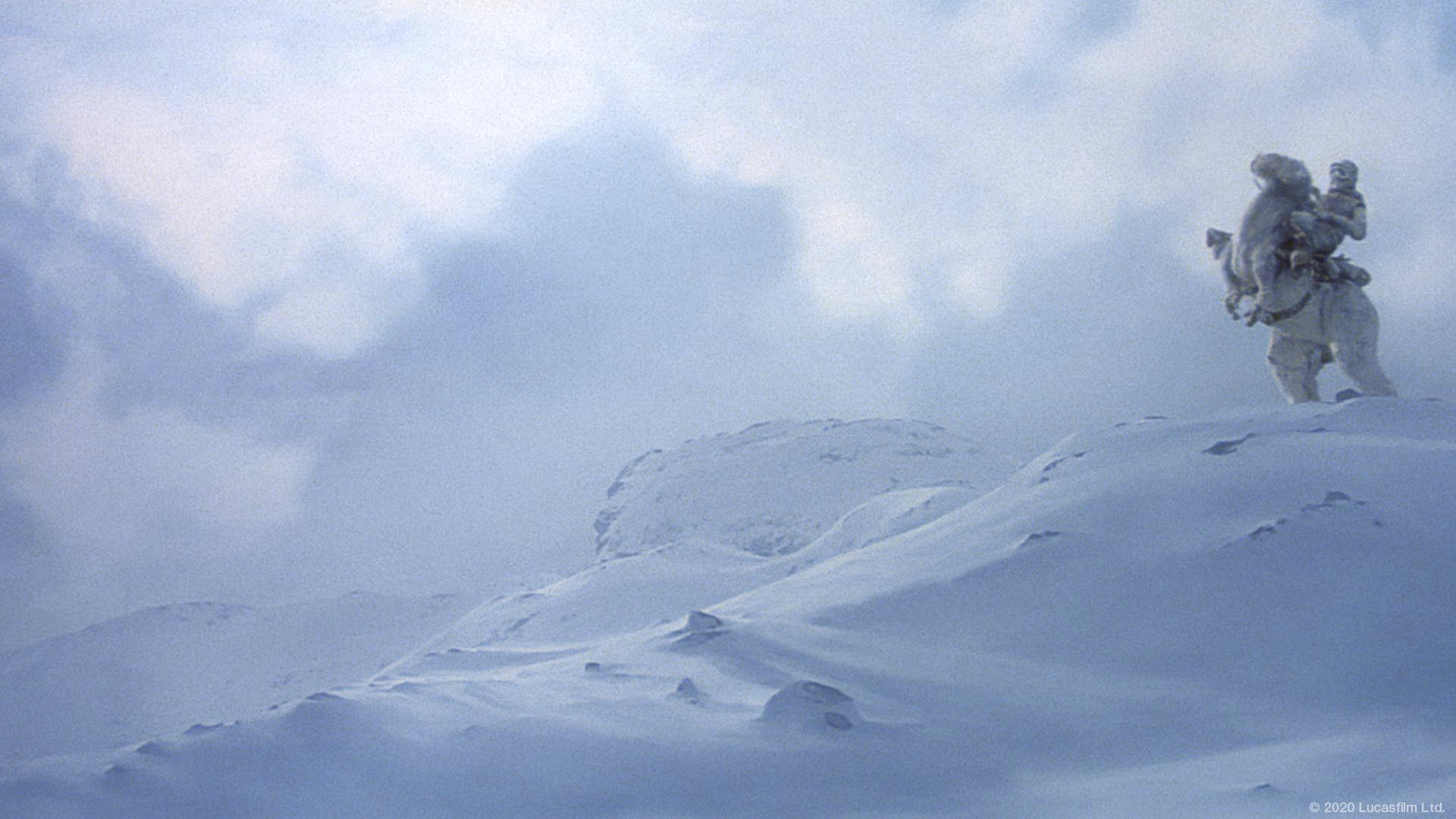 Star Wars virtual background: Hoth