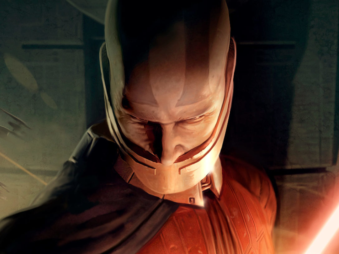 Star Wars Knights of the Old Republic box art.