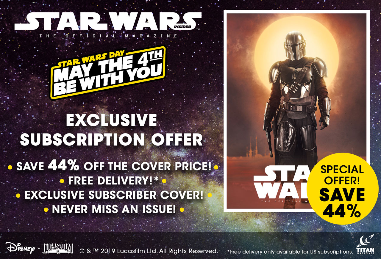 Star Wars Insider May the Fourth deal